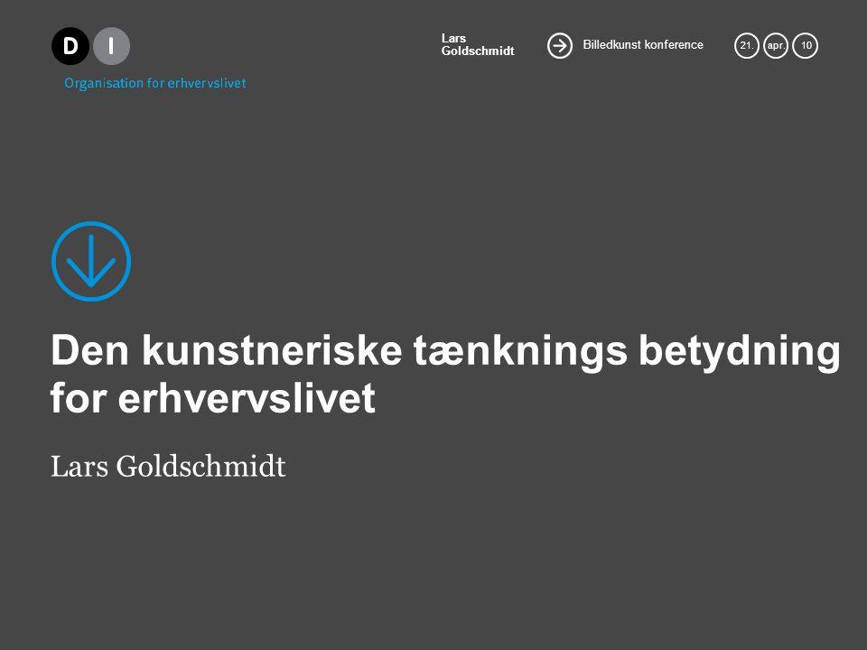 Billedkunst konference Lars Goldschmidt 21.apr.