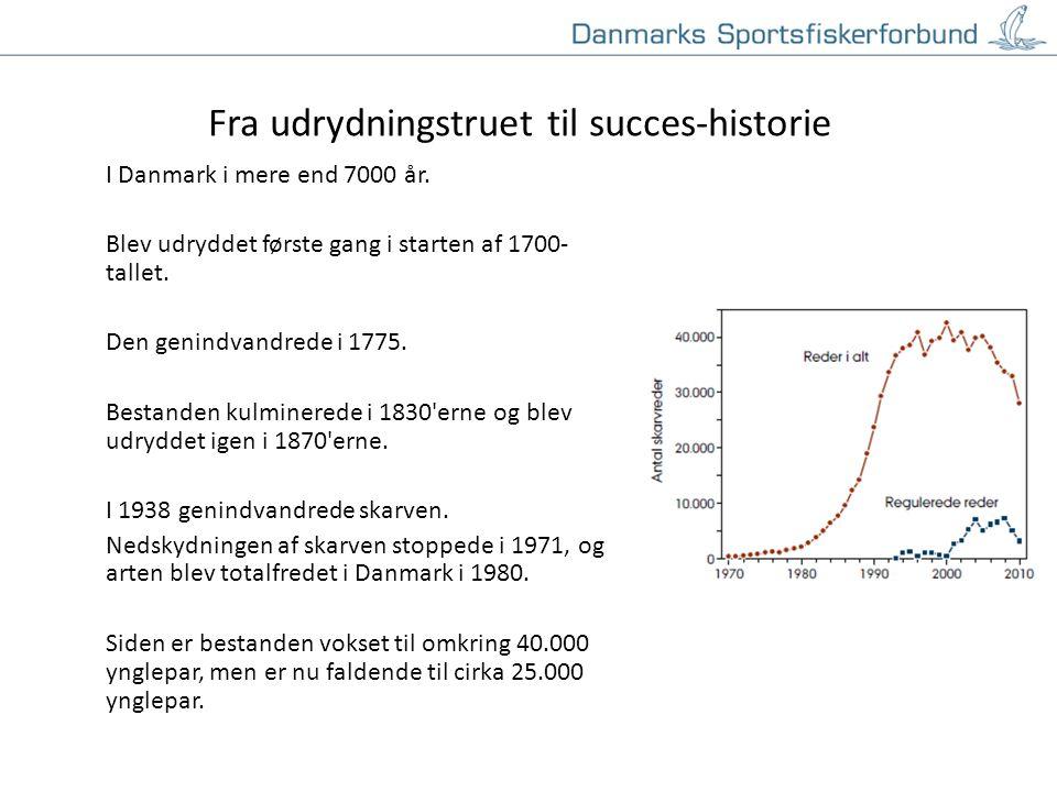 Klik for at redigere titeltypografi i masteren Klik for at redigere undertiteltypografien i masteren 19-11-20143 Fra udrydningstruet til succes-historie I Danmark i mere end 7000 år.