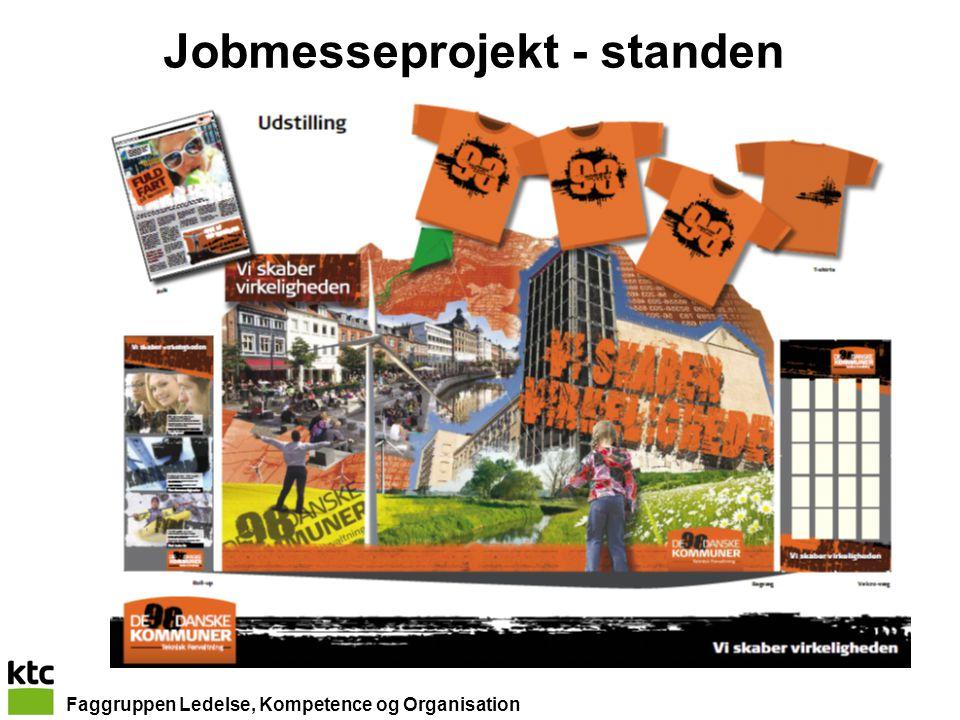Faggruppen Ledelse, Kompetence og Organisation Jobmesseprojekt - standen