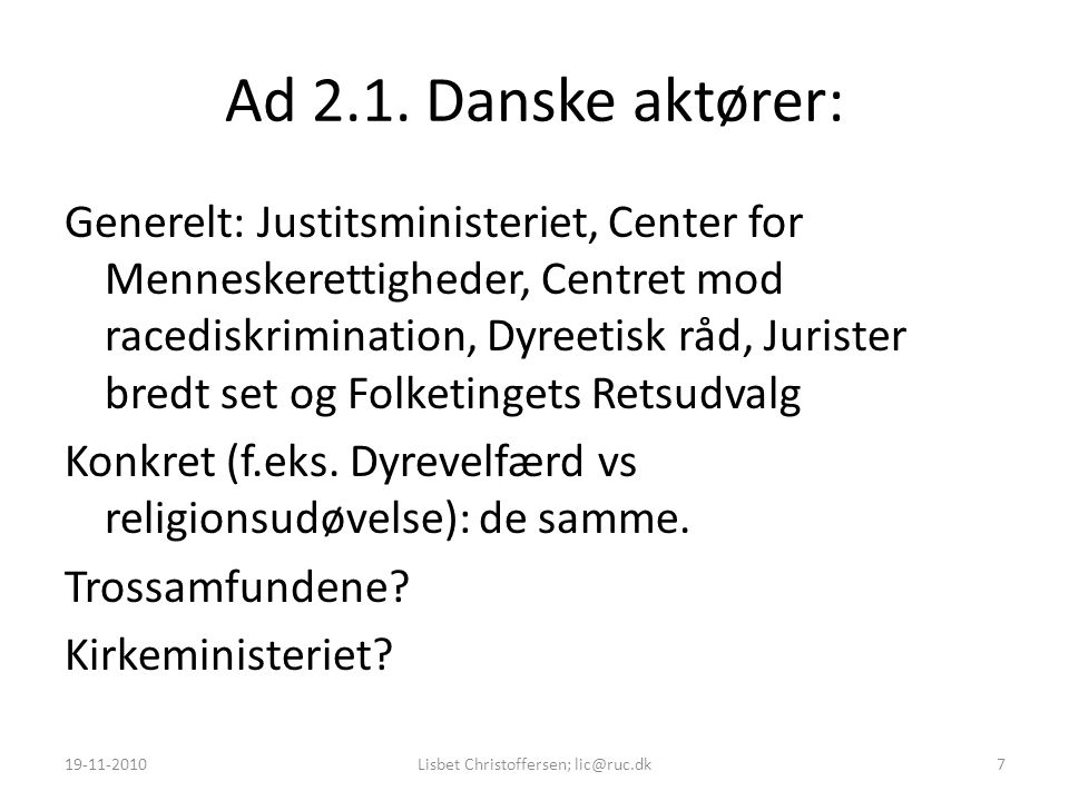 Ad 2.1.