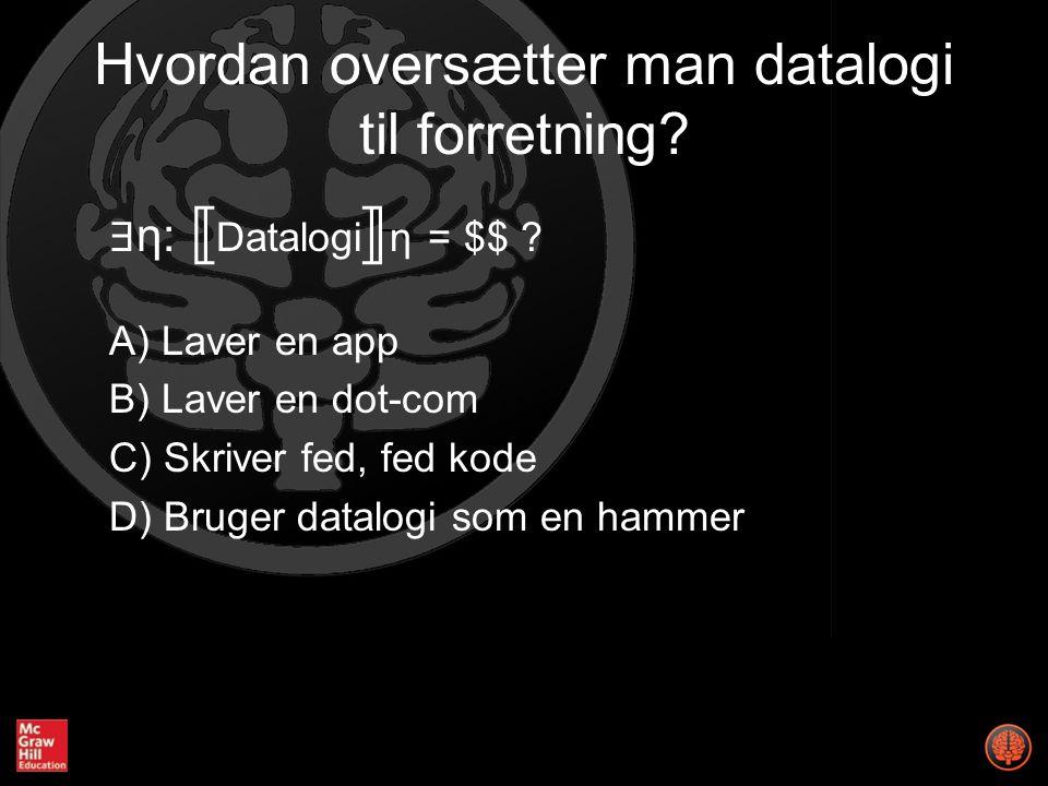 ∃ η: Datalogiη = $$ .