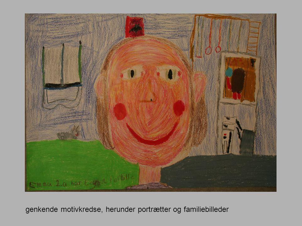 genkende motivkredse, herunder portrætter og familiebilleder