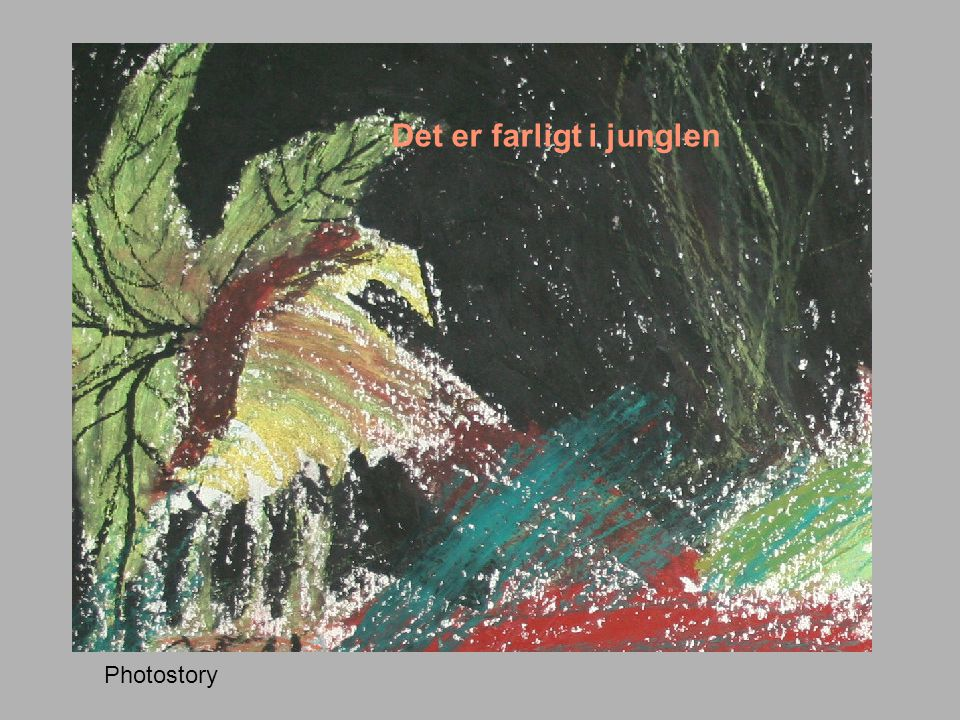 Det er farligt i junglen Photostory