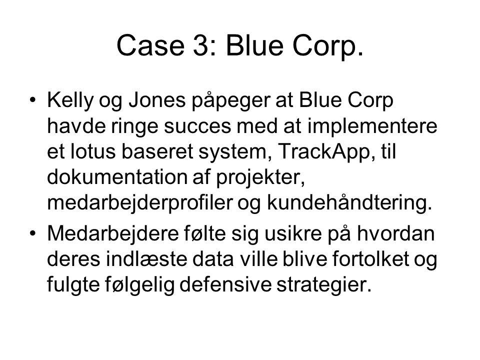 Case 3: Blue Corp.