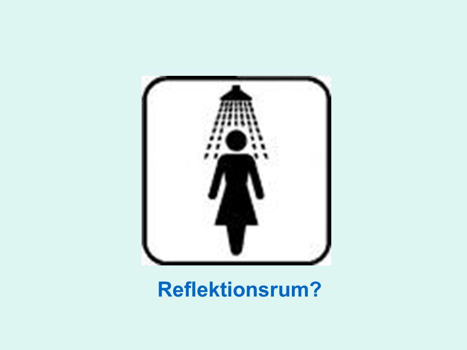 Reflektionsrum