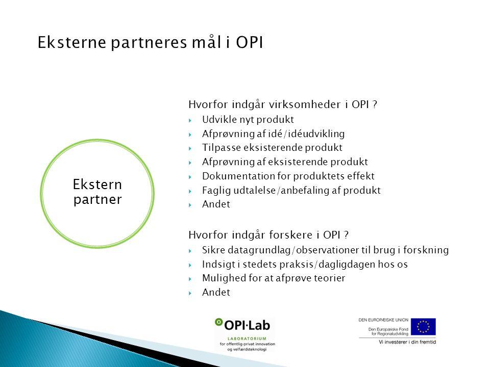 Hvorfor indgår virksomheder i OPI .