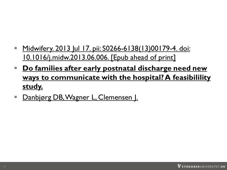  Midwifery. 2013 Jul 17. pii: S0266-6138(13)00179-4.