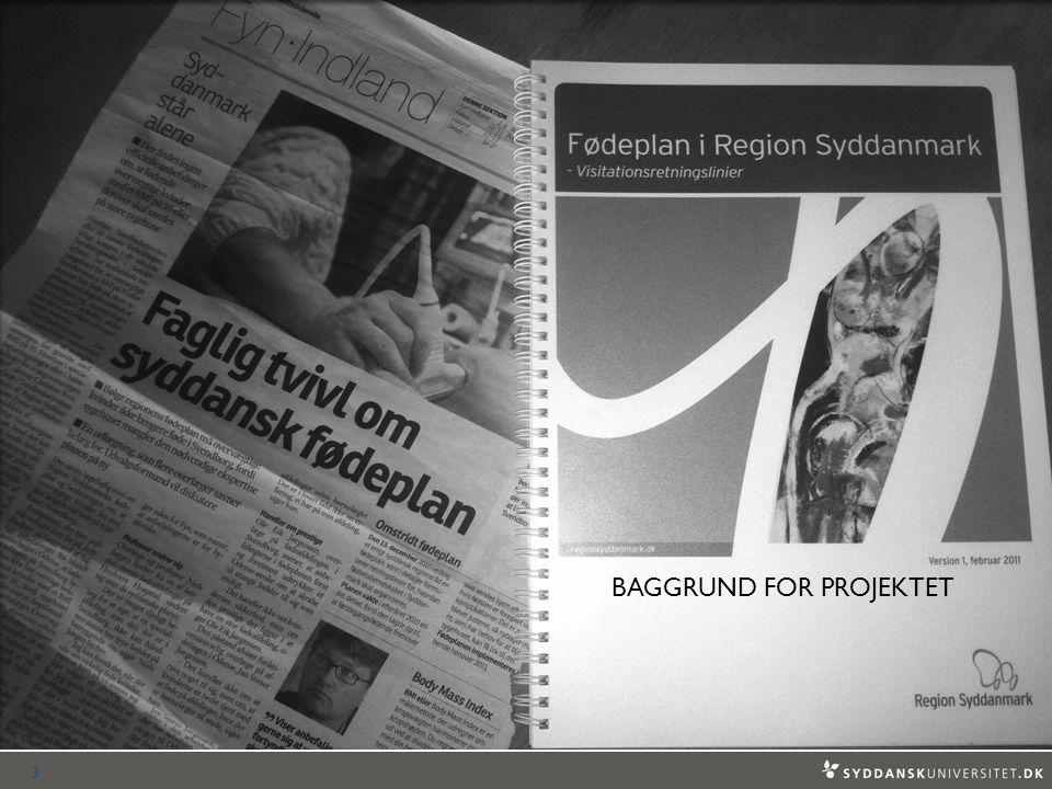 BAGGRUND FOR PROJEKTET 3