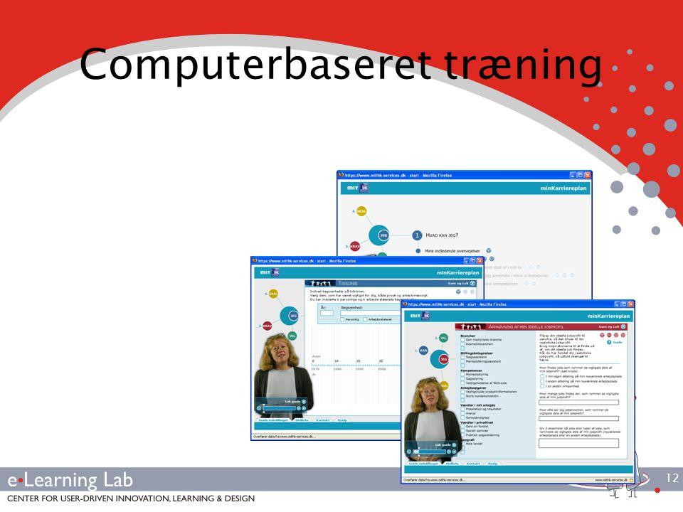 12 Computerbaseret træning