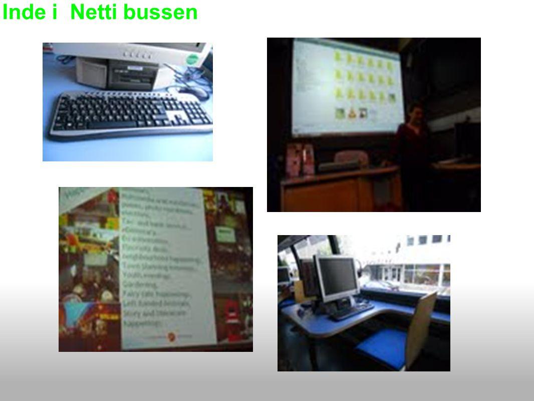 Inde i Netti bussen