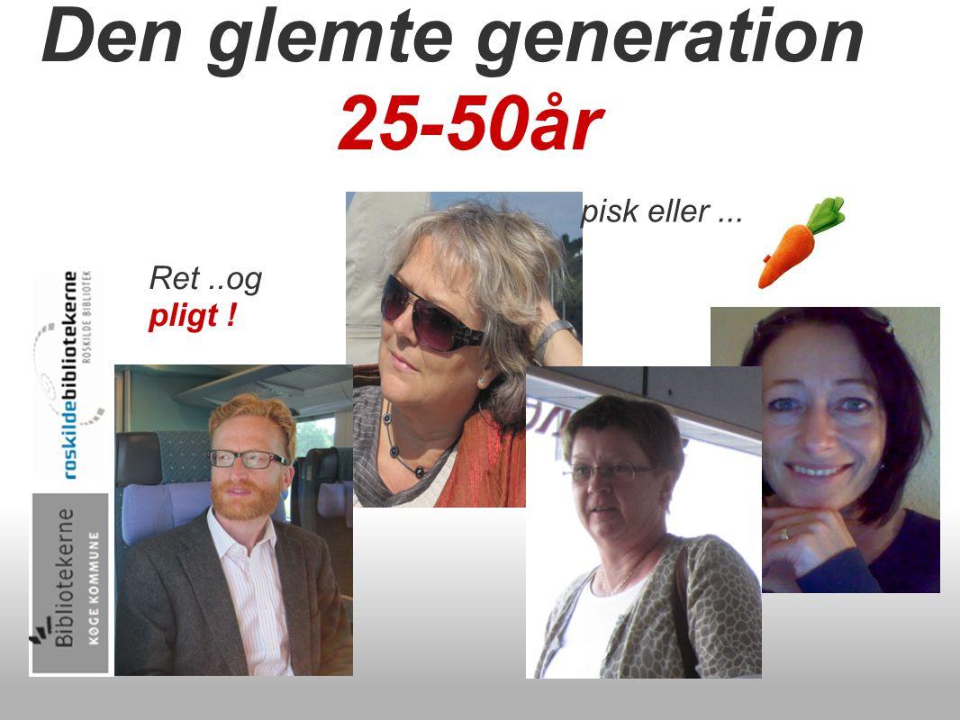 Den glemte generation 25-50år Ret..og pligt ! pisk eller...