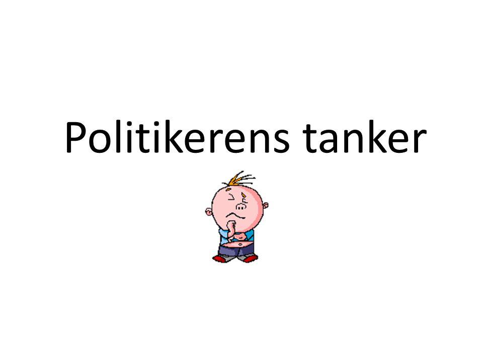 Politikerens tanker