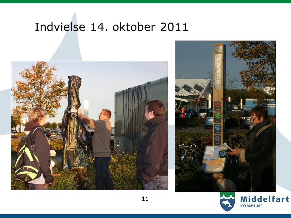 Indvielse 14. oktober 2011 11