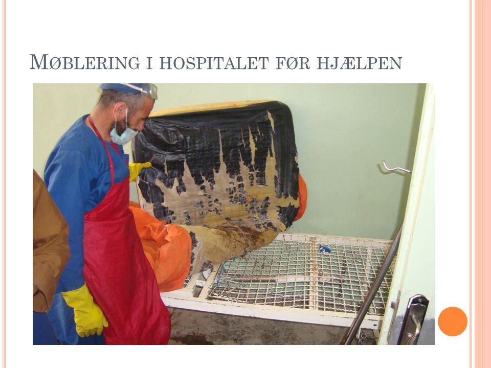 M ØBLERING I HOSPITALET FØR HJÆLPEN