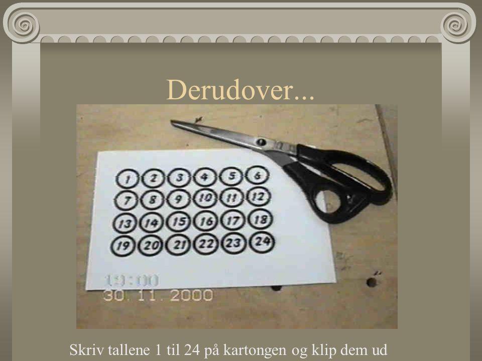 Man skal bruge: Hammer, tommestok, vaterpas, fil, boremaskine med 10- er bor, 2 x 10-er ravplugs, fastnøgle og skruer.