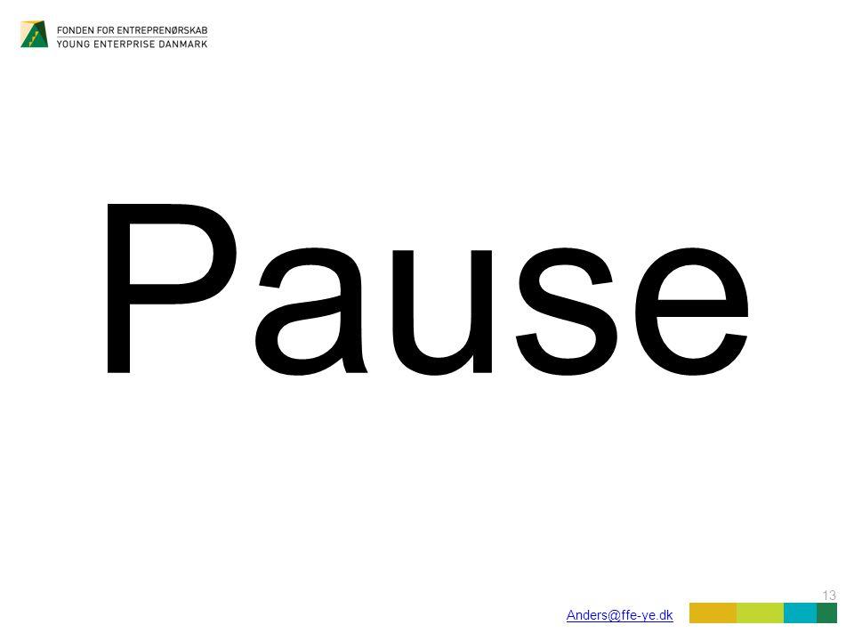 13 Anders@ffe-ye.dk Pause