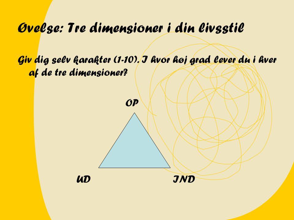 Test på en ledergruppe (til sammenligning!) OP 3-4 UD 6-7 IND 6-7