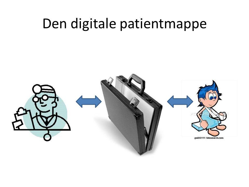 Den digitale patientmappe