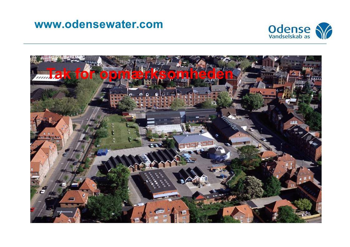 www.odensewater.com Tak for opmærksomheden