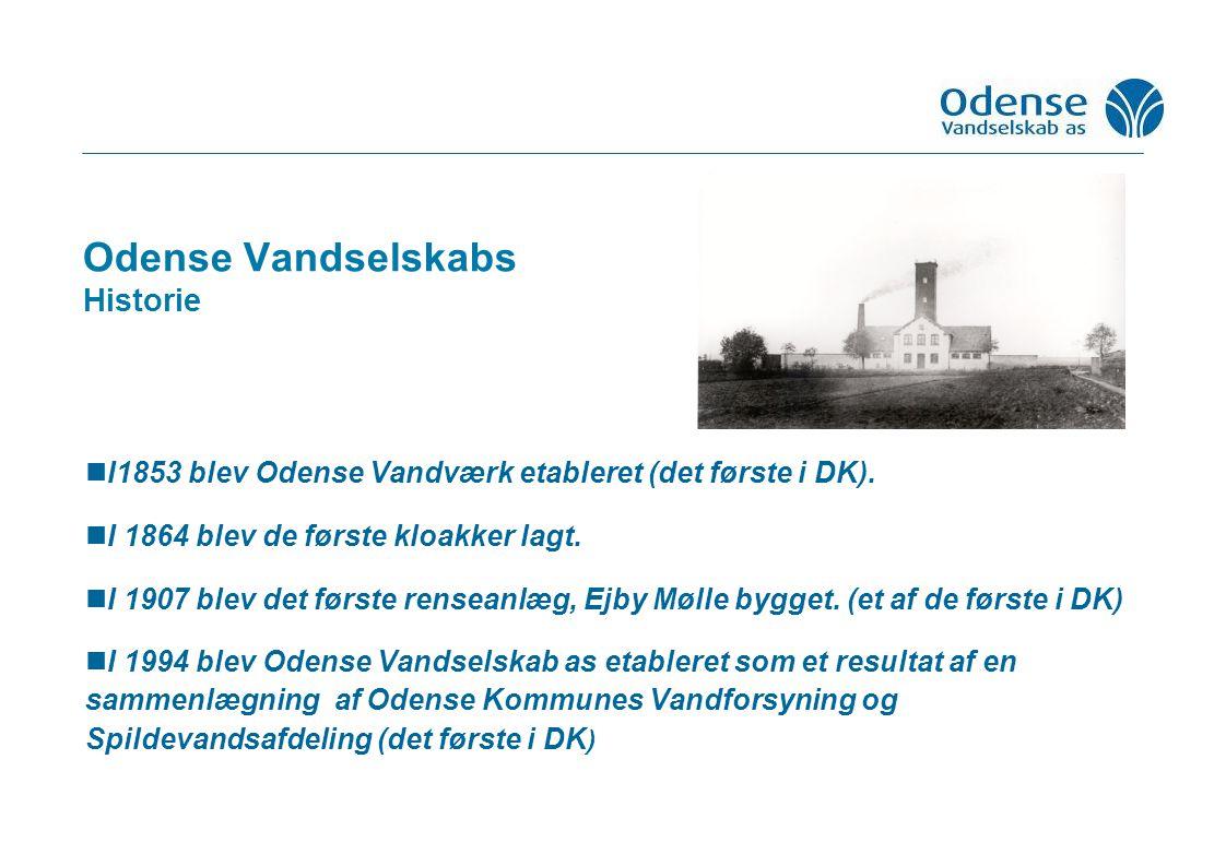 Odense Vandselskabs Historie I1853 blev Odense Vandværk etableret (det første i DK).
