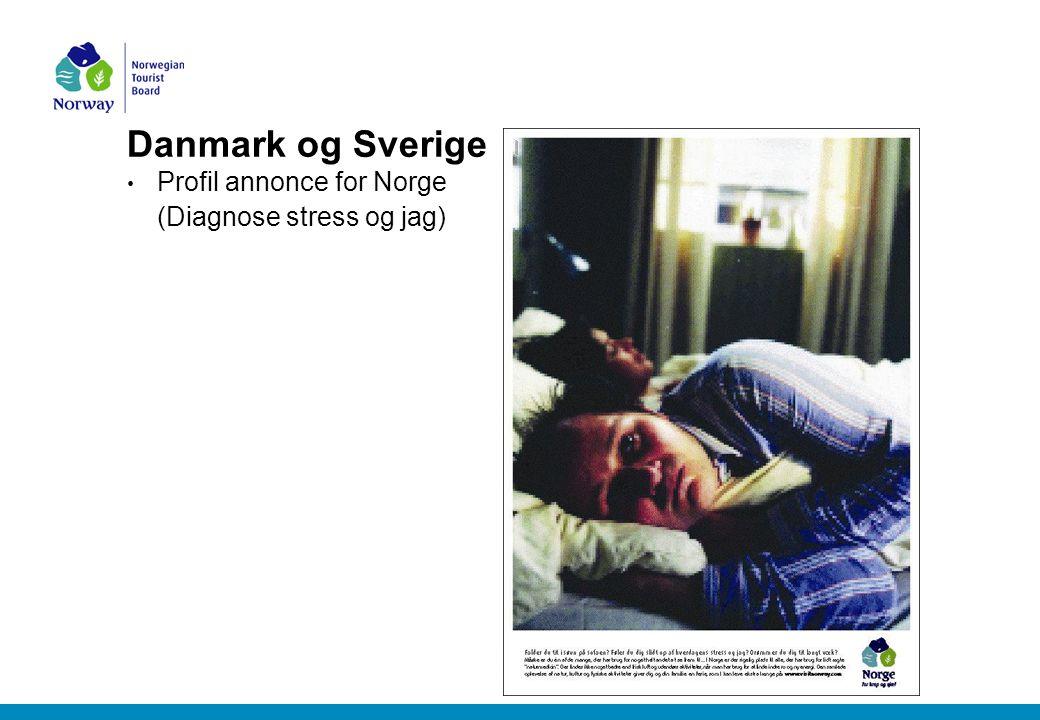 Danmark og Sverige Profil annonce for Norge (Diagnose stress og jag)