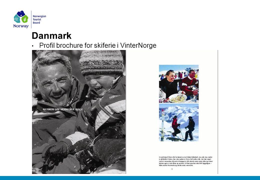 Danmark Profil brochure for skiferie i VinterNorge