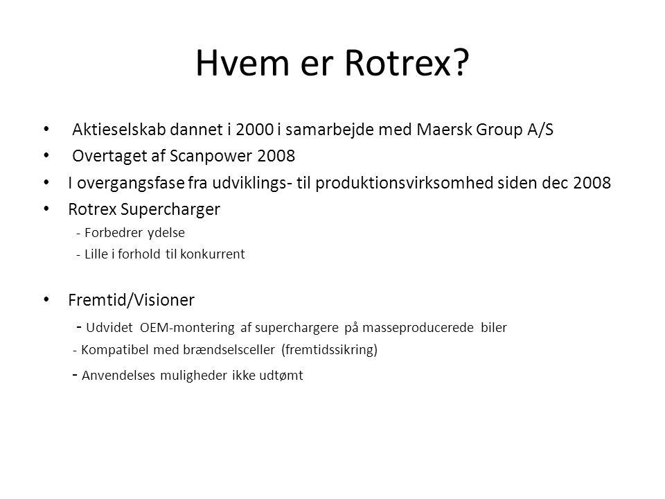 Hvem er Rotrex.