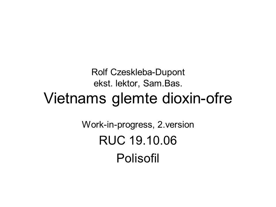 Rolf Czeskleba-Dupont ekst. lektor, Sam.Bas.