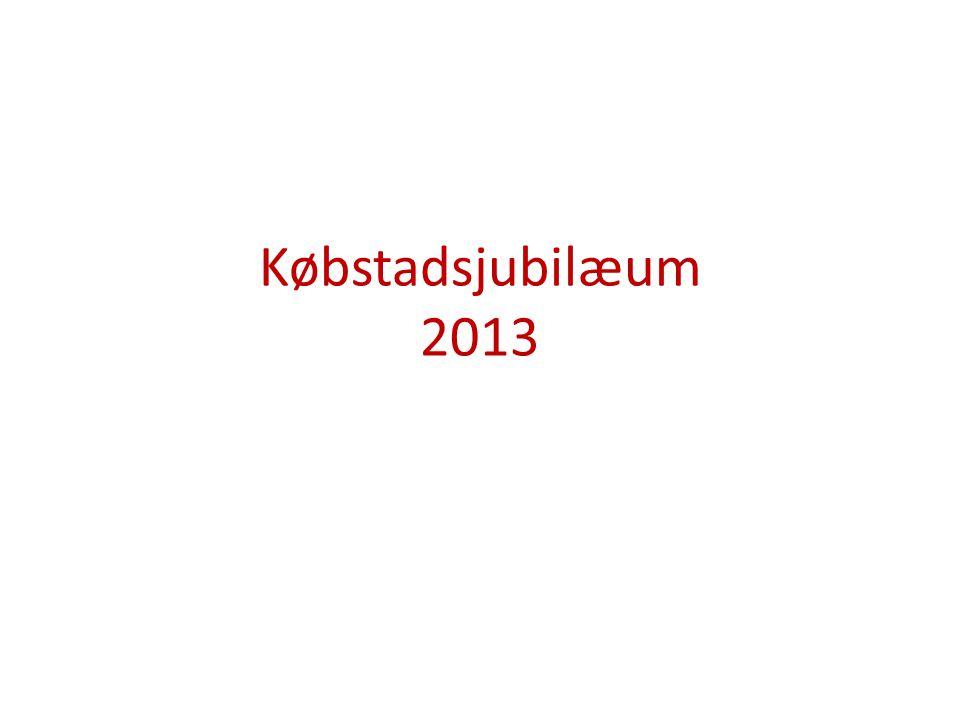 Købstadsjubilæum 2013