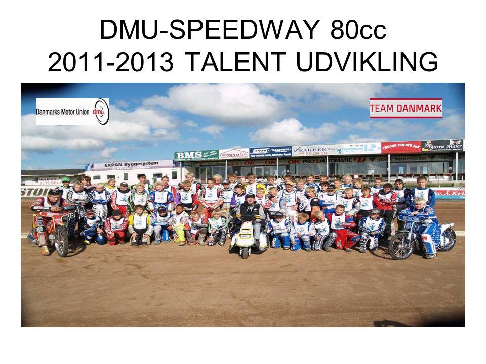 DMU-SPEEDWAY 80cc 2011-2013 TALENT UDVIKLING