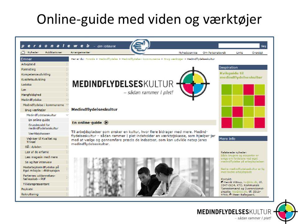 Online-guide med viden og værktøjer