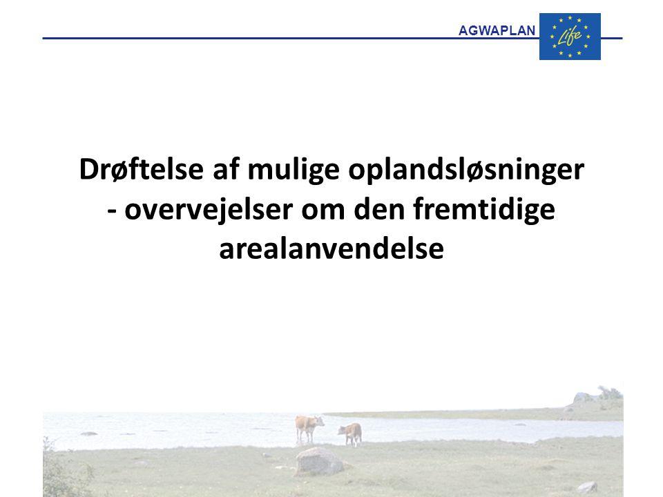 Drøftelse af mulige oplandsløsninger - overvejelser om den fremtidige arealanvendelse