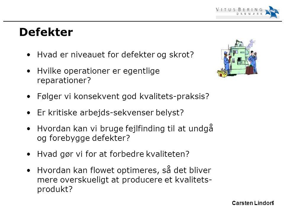 5 Carsten Lindorf Defekter Hvad er niveauet for defekter og skrot.