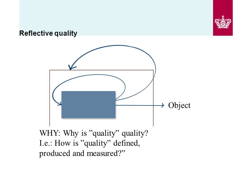WHY: Why is quality quality.