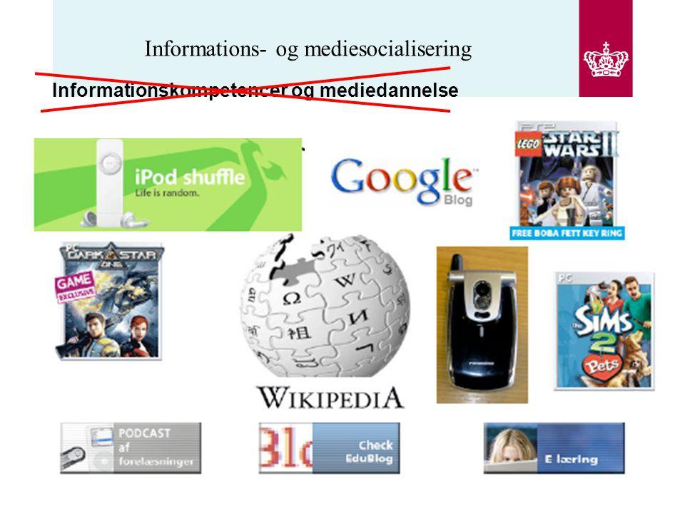 Informations- og mediesocialisering