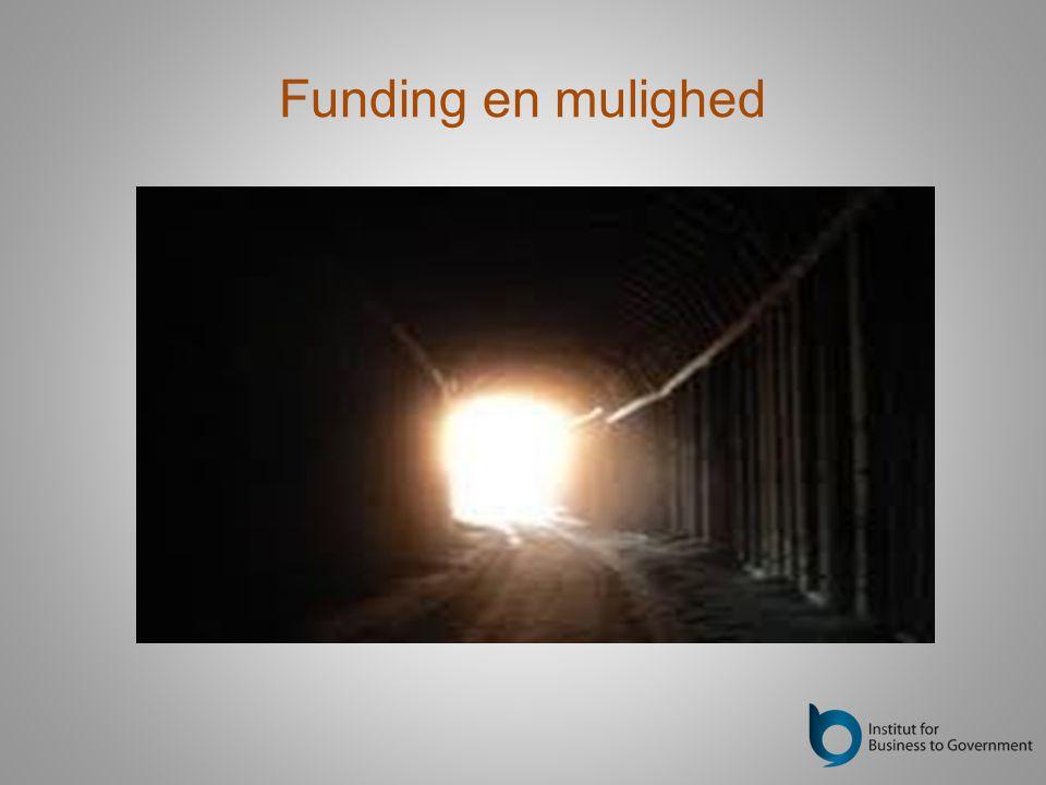 Funding en mulighed