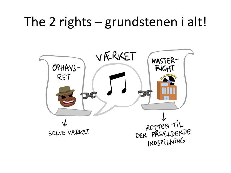 The 2 rights – grundstenen i alt!