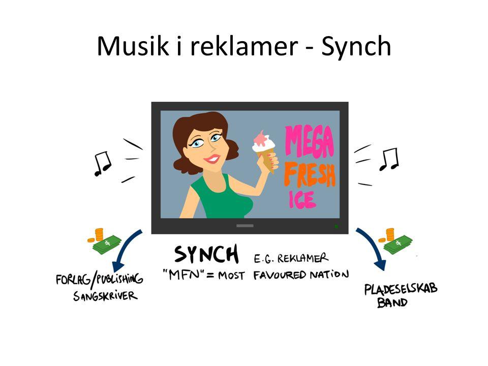 Musik i reklamer - Synch