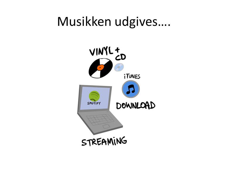 Musikken udgives….