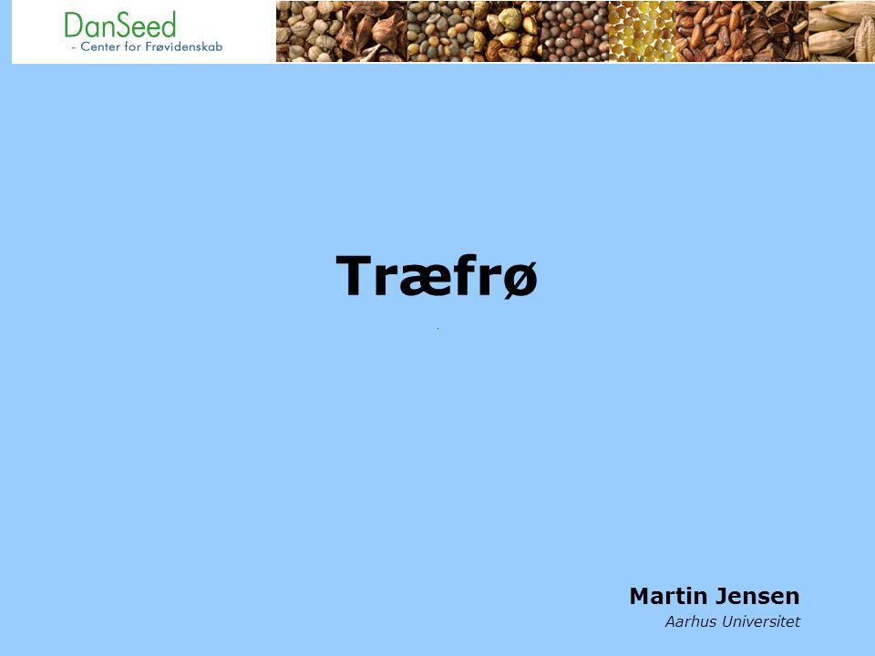 Træfrø Martin Jensen Aarhus Universitet