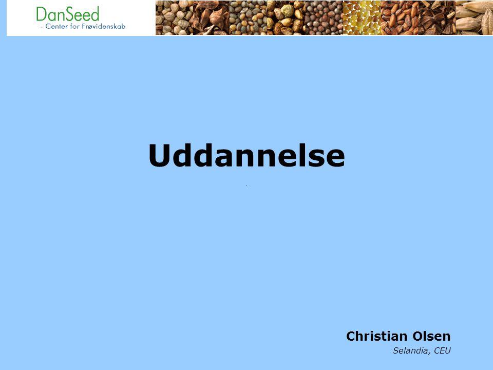 Uddannelse Christian Olsen Selandia, CEU