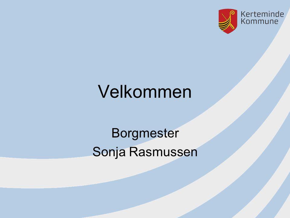 Velkommen Borgmester Sonja Rasmussen