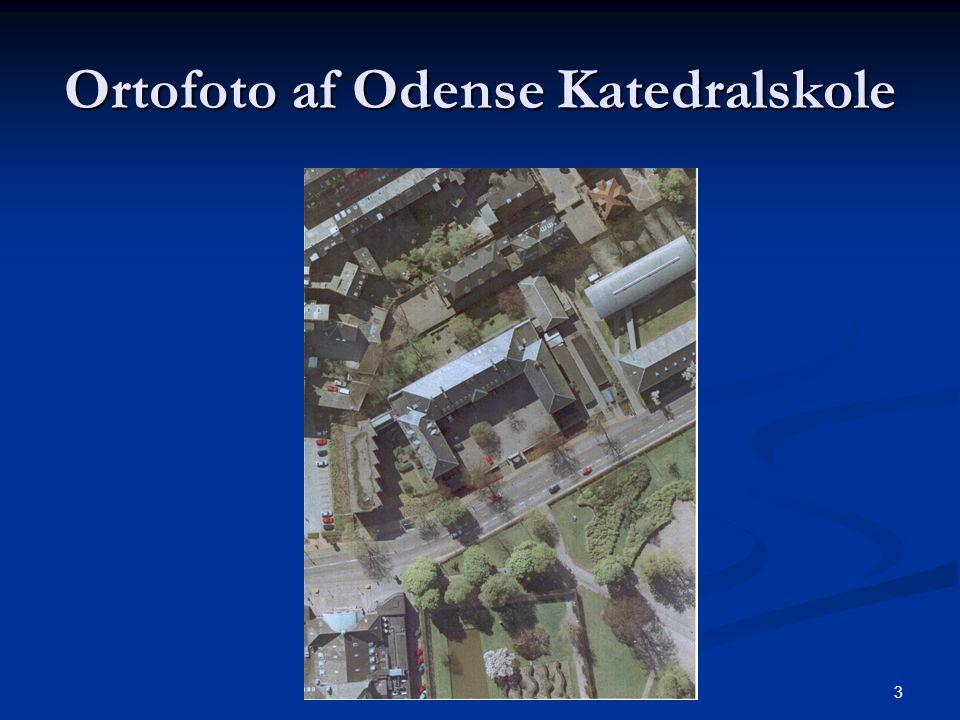 3 Ortofoto af Odense Katedralskole