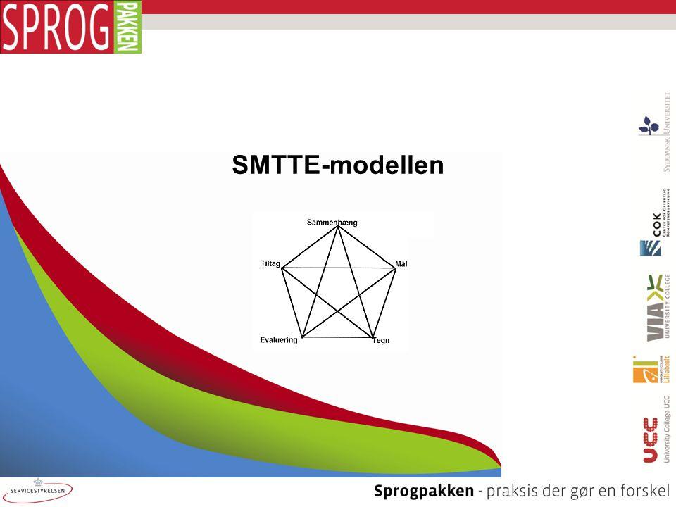 SMTTE Seriøs fokusering og processuel systematik er et krævende arbejde, der indebærer sin egen begrænsning: Man kan ikke have fokus på alting.