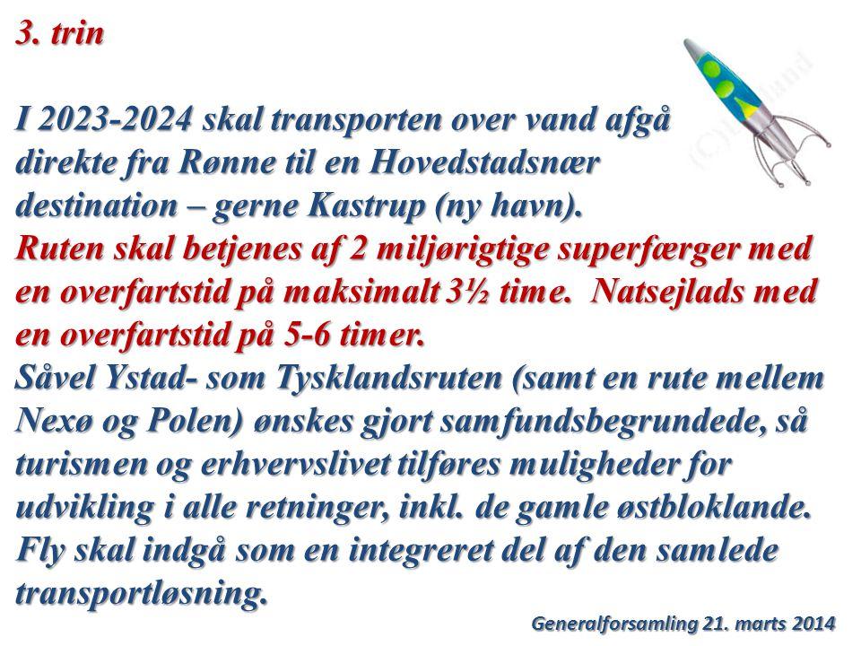Generalforsamling 21. marts 2014 3.