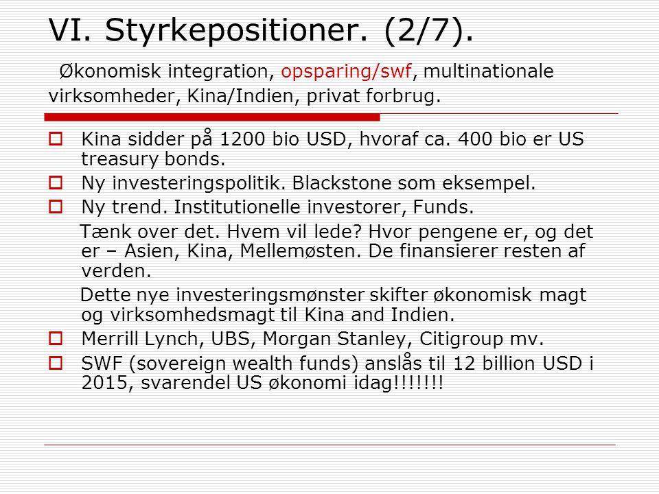 VI. Styrkepositioner. (2/7).