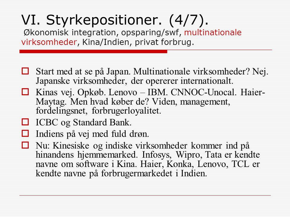 VI. Styrkepositioner. (4/7).