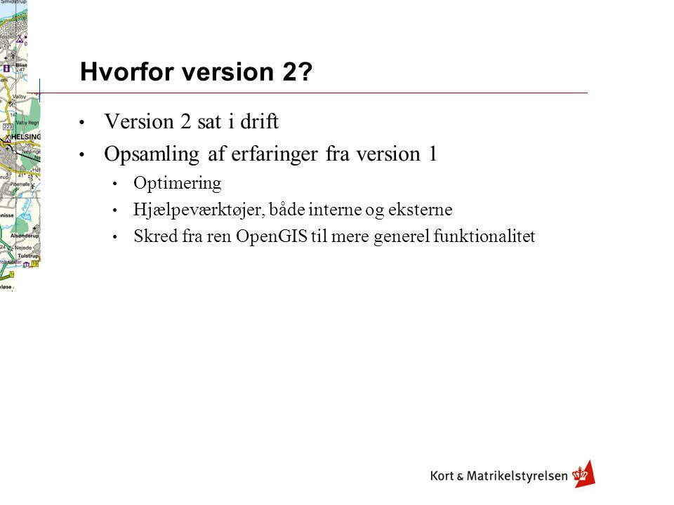 Hvorfor version 2.