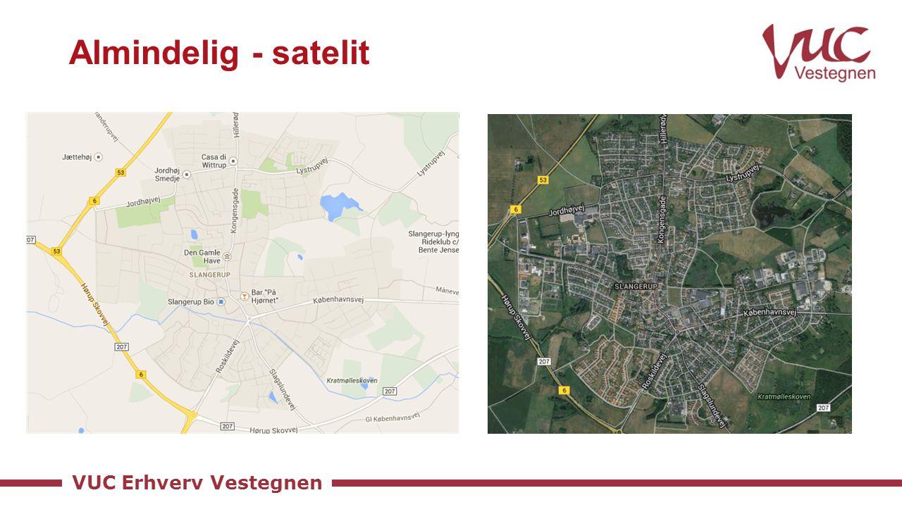 VUC Erhverv Vestegnen Almindelig - satelit