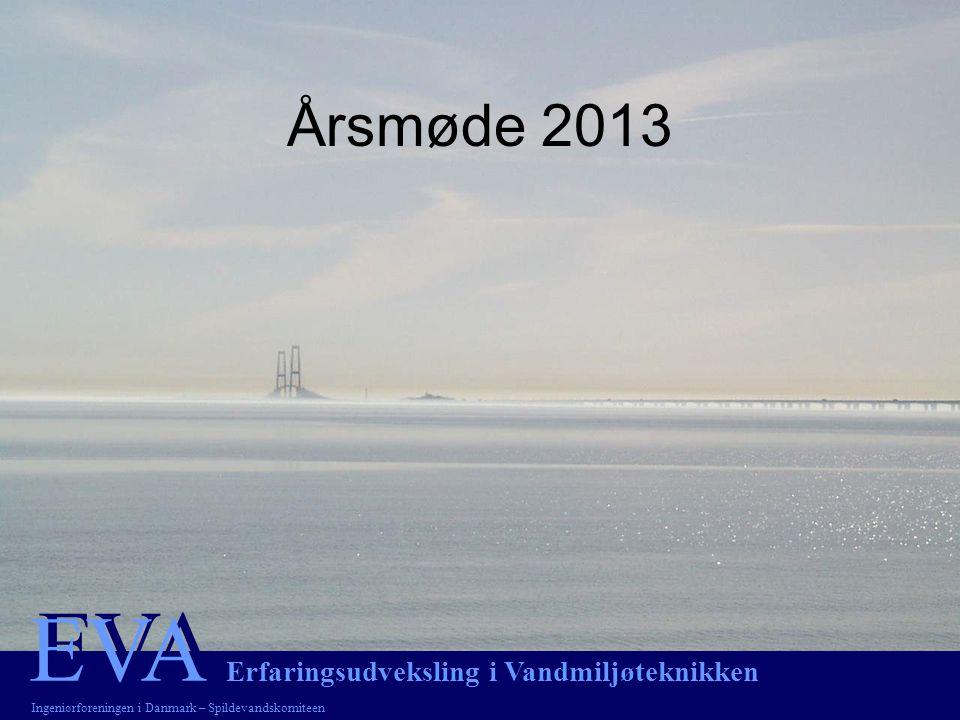 EVA EVA Erfaringsudveksling i Vandmiljøteknikken Ingeniørforeningen i Danmark – Spildevandskomiteen Årsmøde 2013